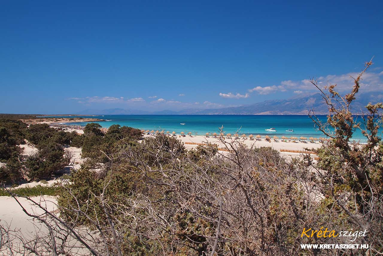 Chrissi sziget, Kréta