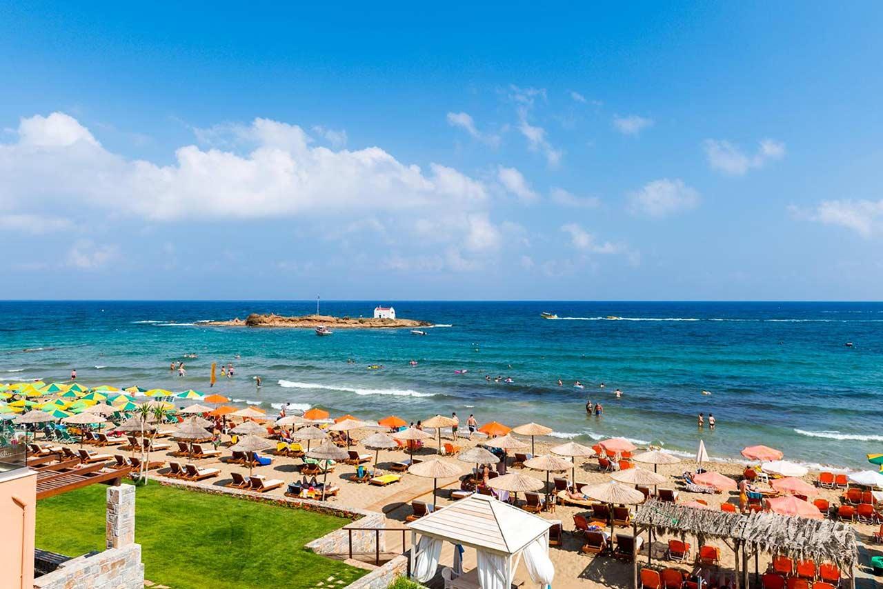 Stalis és Malia strandjai Krétán