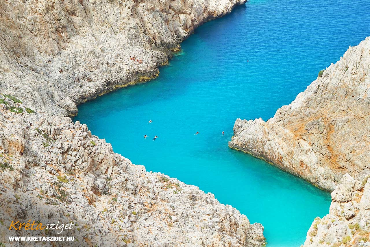Seitan Limania beach Kréta